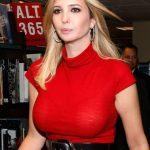 【乳首あり】ドナルド・トランプ米大統領の娘イヴァンカのおっぱいの大きさは?